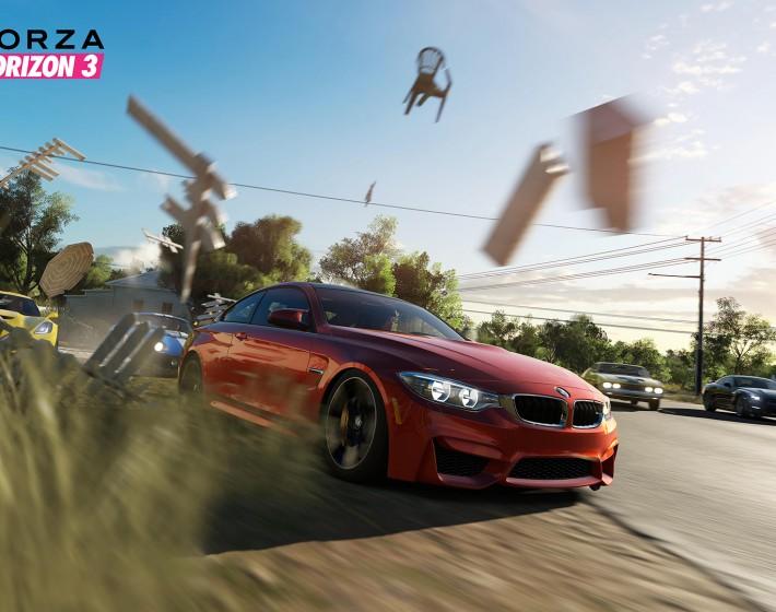 Gameplay: pisando fundo em Forza Horizon 3