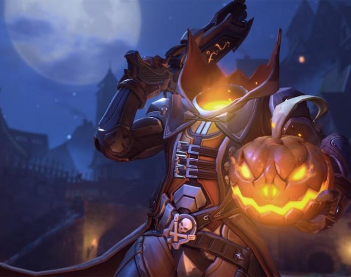 Gameplay: Halloween antecipado em Overwatch