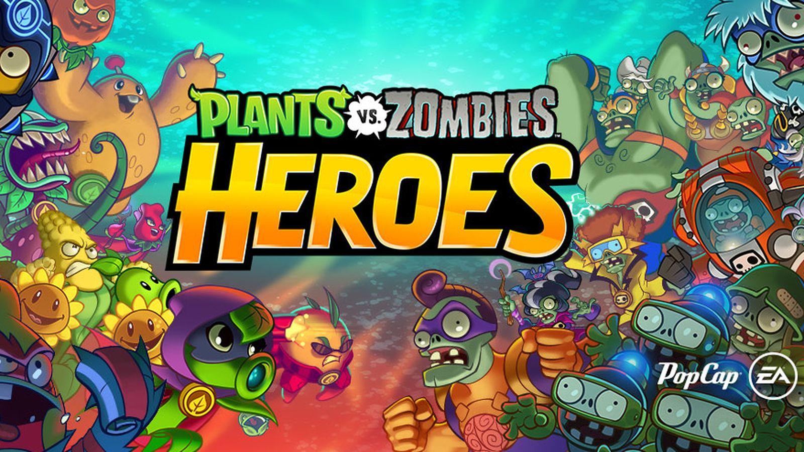 Capa de Plants Vs. Zombies: Heroes