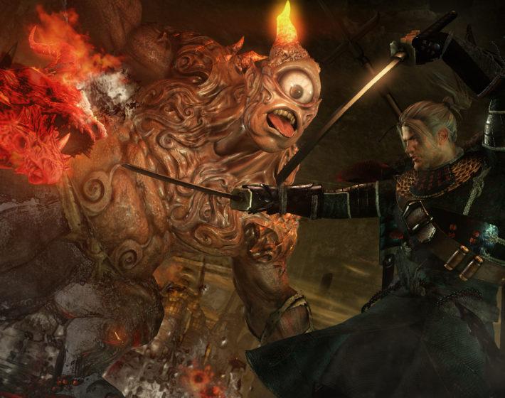 Gameplay: um samurai iniciante em Nioh