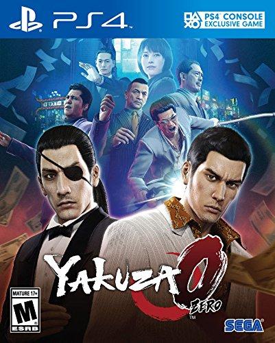 Capa de Yakuza 0