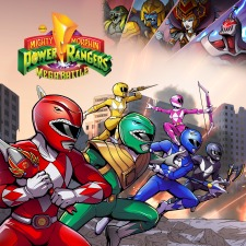 Capa de Mighty Morphin Power Rangers: Mega Battle