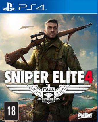 Capa de Sniper Elite 4