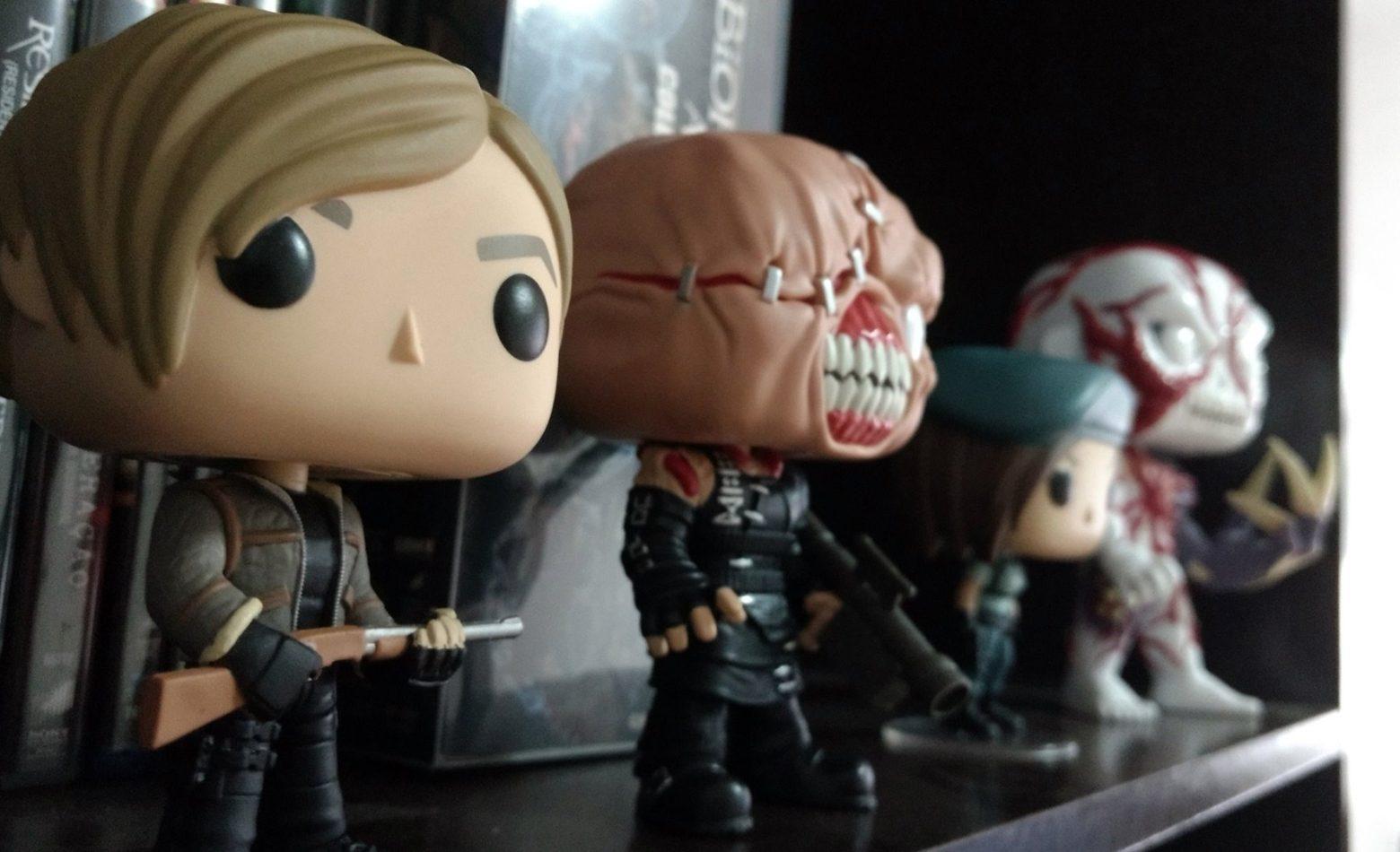 Unboxing: linha Funko Pop de Resident Evil