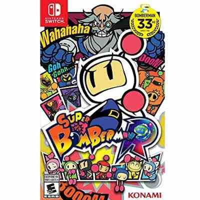 Capa de Super Bomberman R