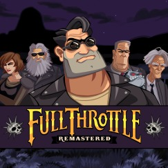 Capa de Full Throttle Remastered