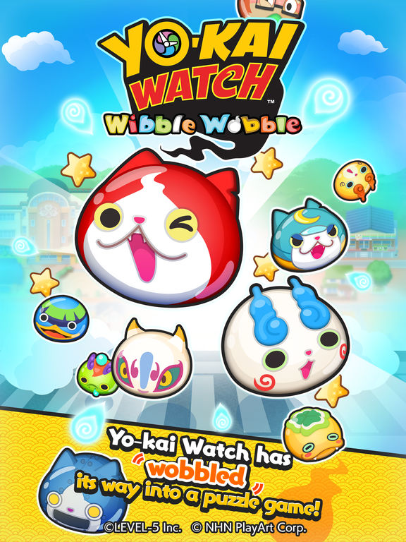 Capa de Yo-Kai Watch: Wibble Wobble