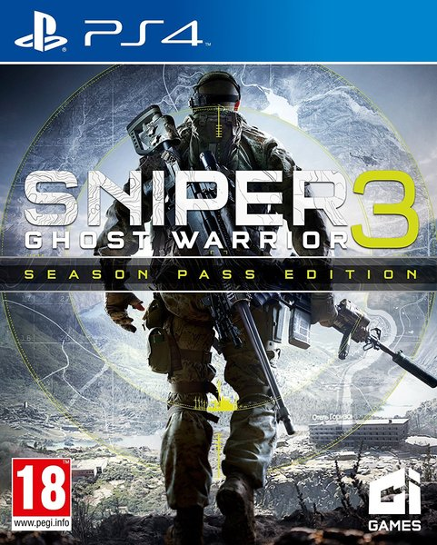 Capa de Sniper Ghost Warrior 3