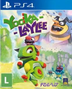 Capa de Yooka-Laylee