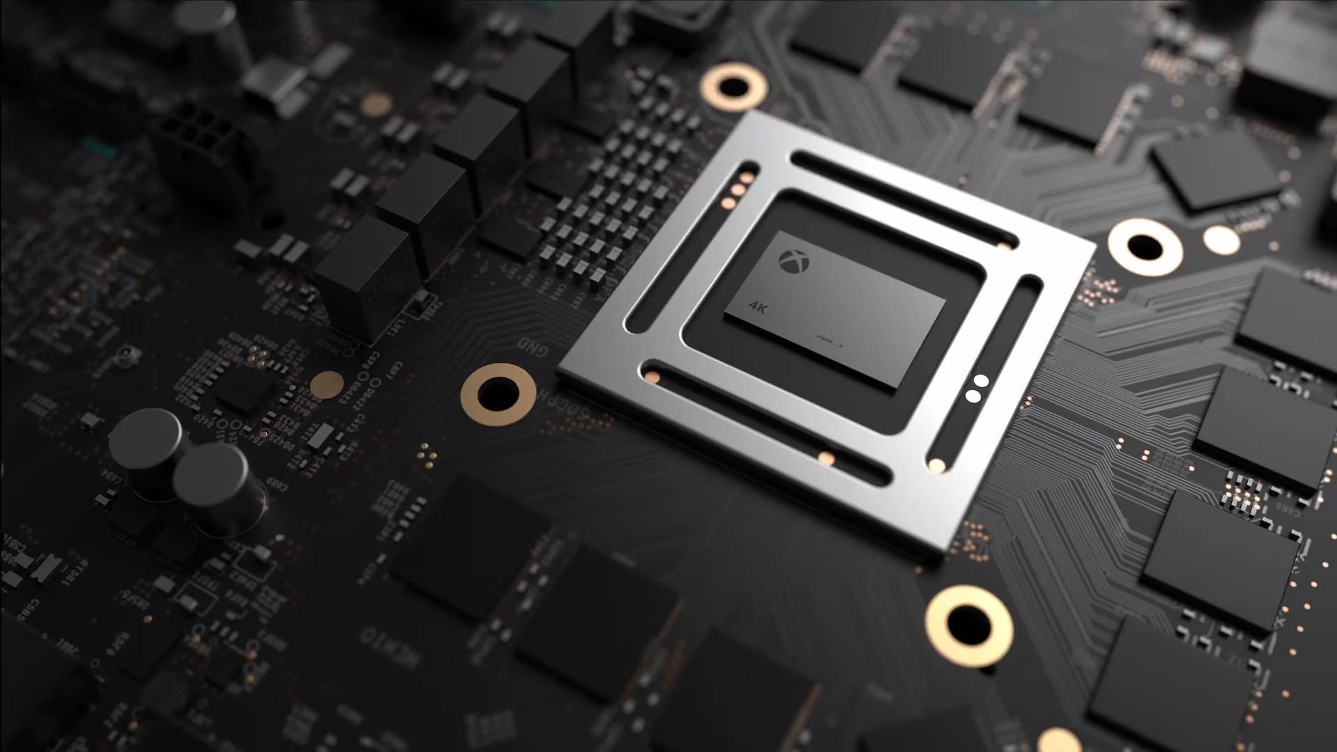 Scorpio Microsoft Xbox