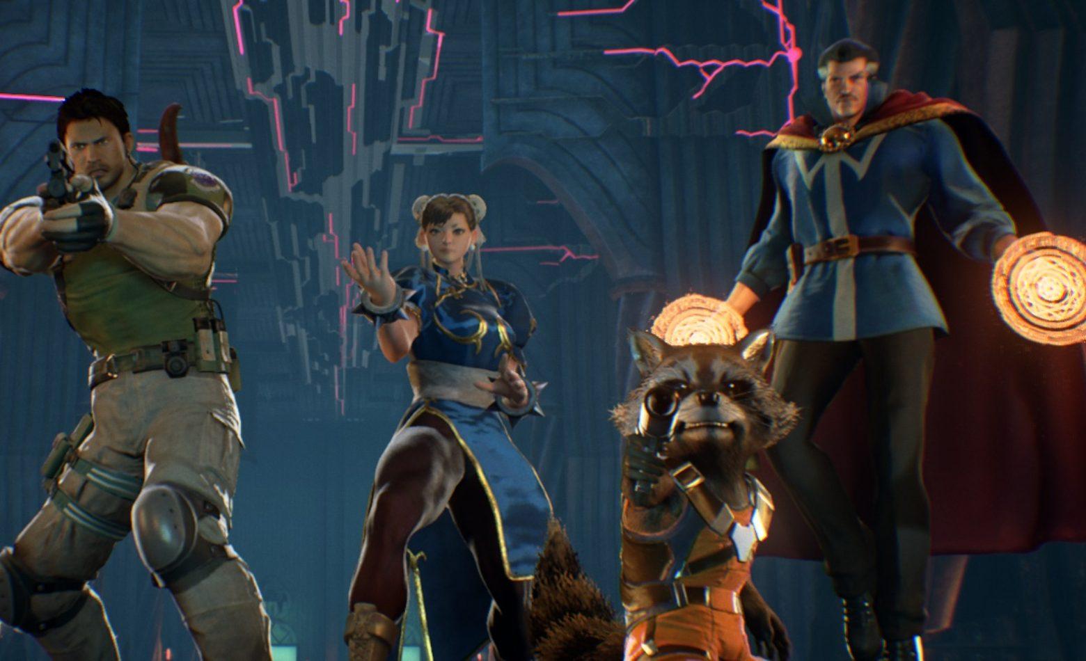 Gameplay: uma olhada no modo história de Marvel vs. Capcom Infinite