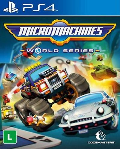 Capa de Micro Machines World Series