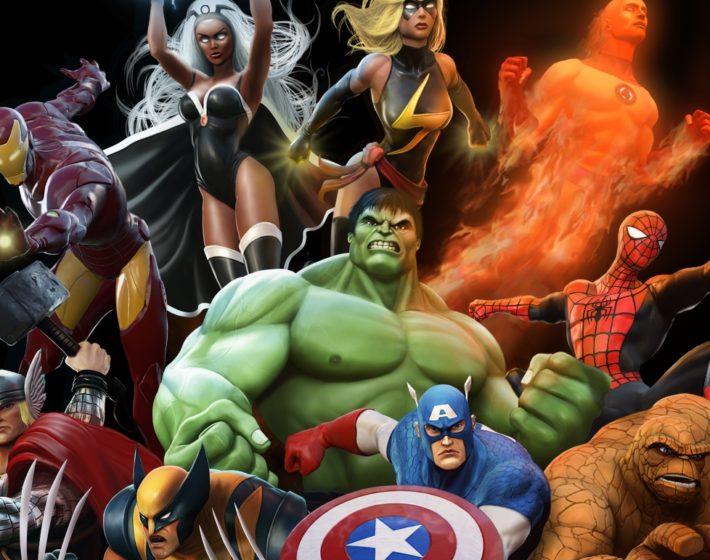 Gameplay: um combate estrelado em Marvel Heroes Omega