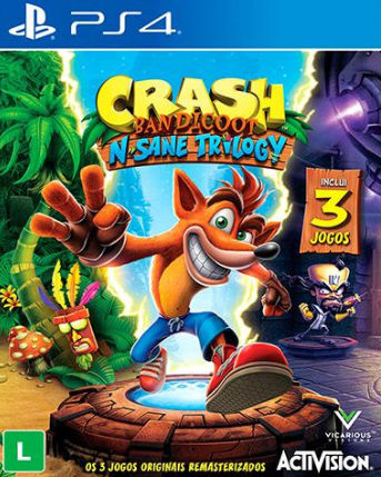 Capa de Crash Bandicoot: N'Sane Trilogy