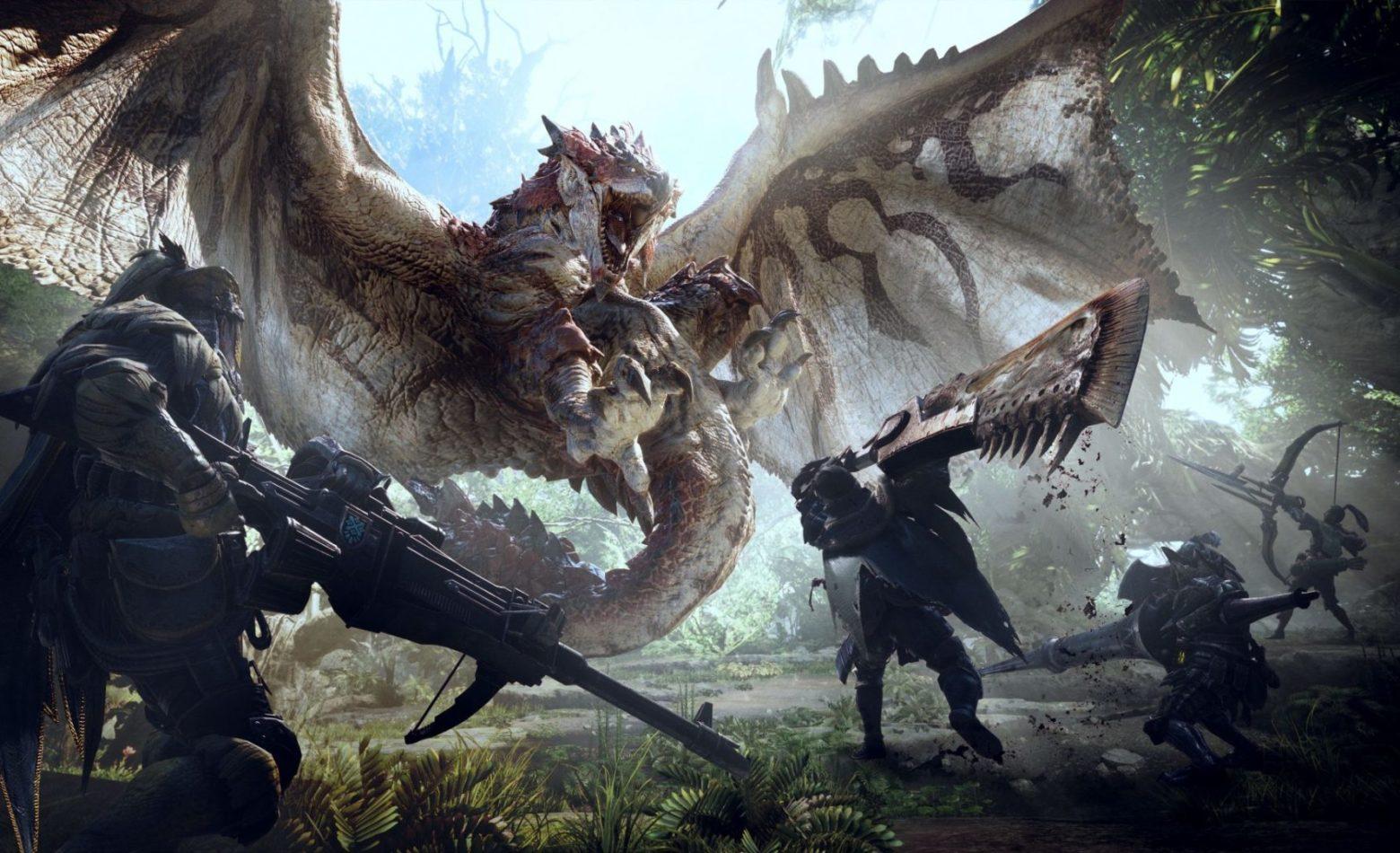 Gameplay: é hora de aventura e caça em Monster Hunter: World