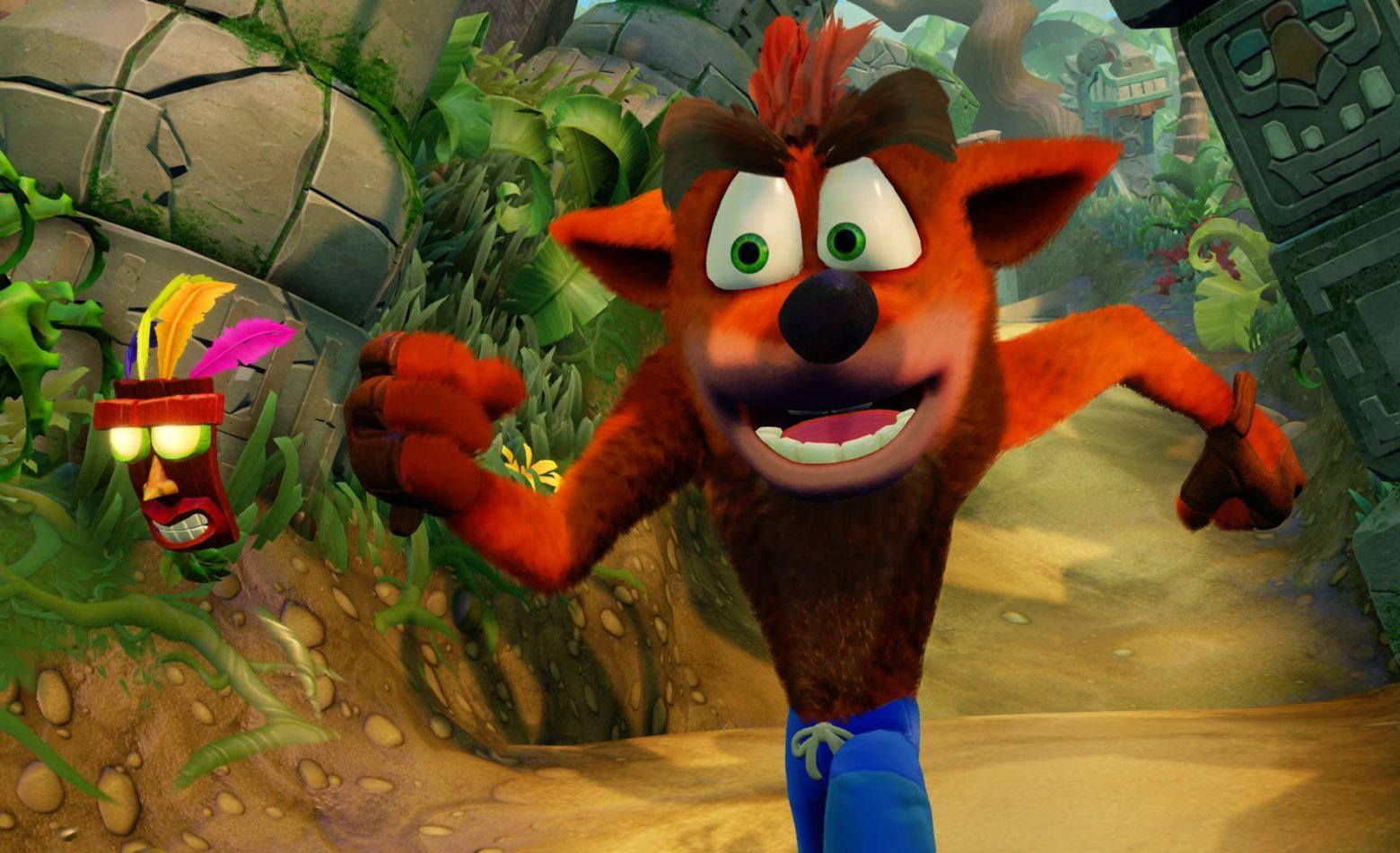Gameplay: Vamos tentar passar da nova fase do Crash Bandicoot: N'Sane Trilogy