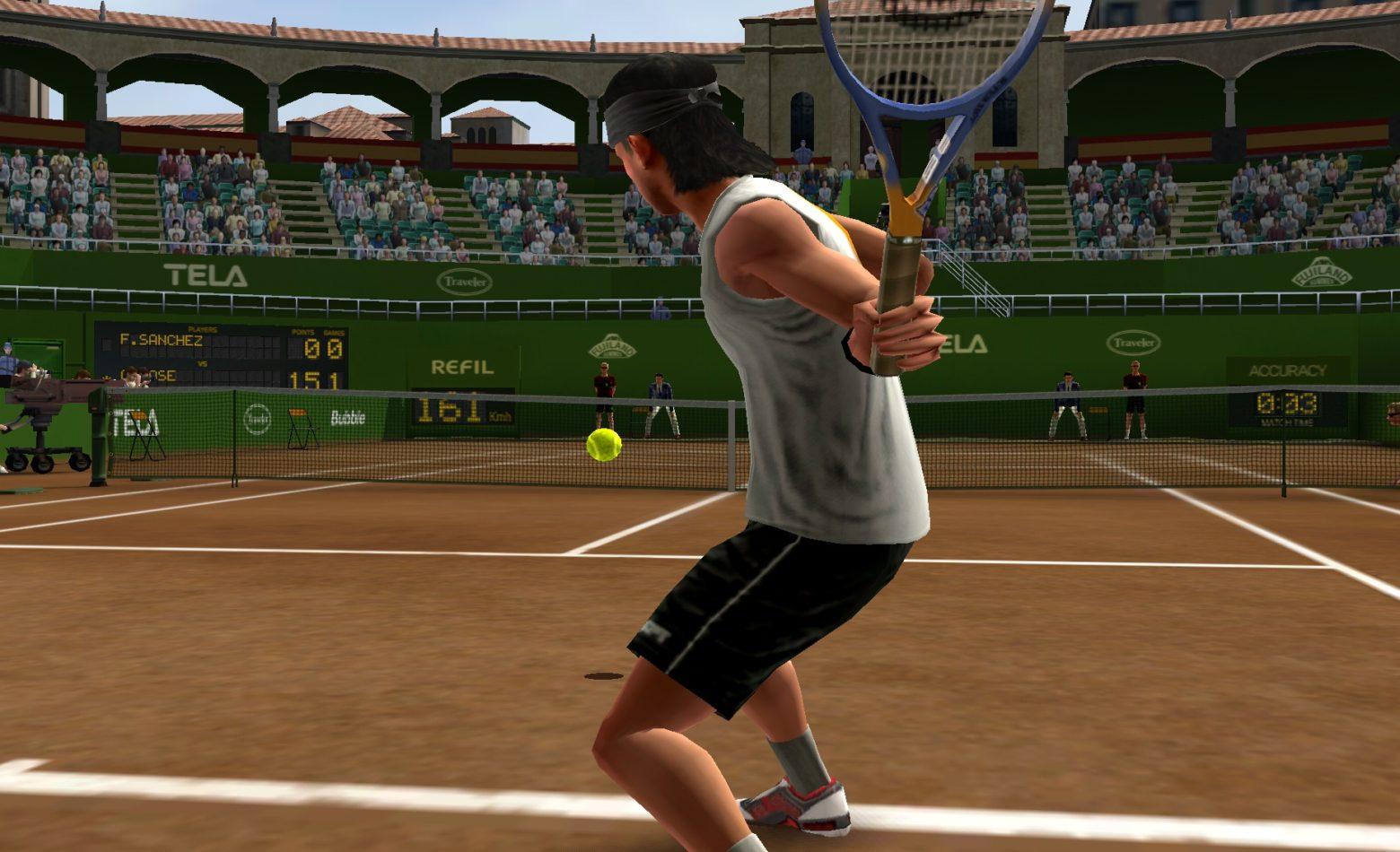 Gameplay: nossa estreia nas quadras de Virtua Tennis Challenge