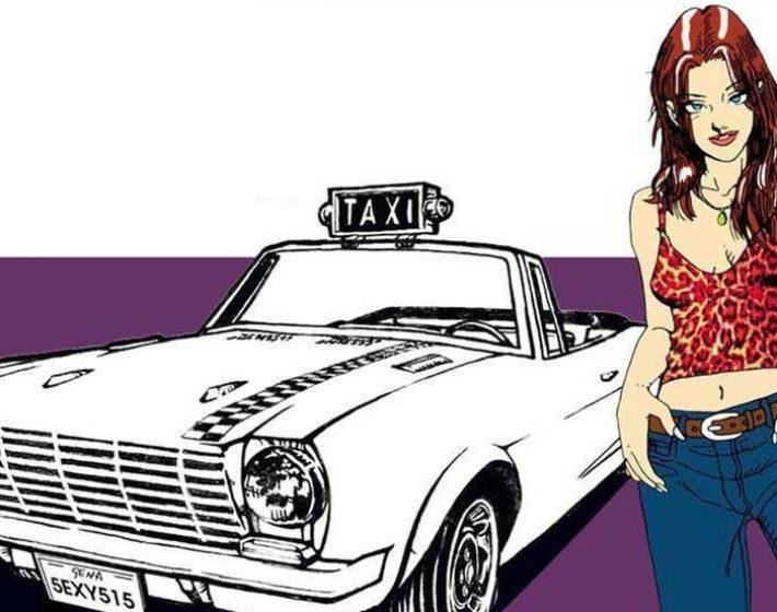Gameplay: nada de carro preto nas ruas de Crazy Taxi