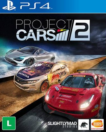 Capa de Project CARS 2