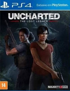 Capa de Uncharted: The Lost Legacy
