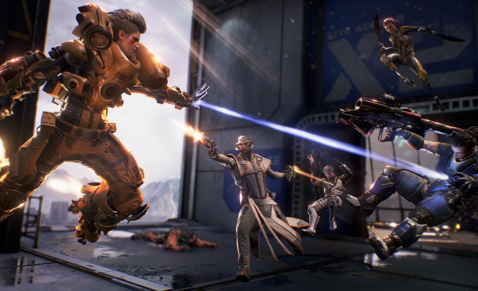 Gameplay: quebrando a lei da gravidade em Lawbreakers