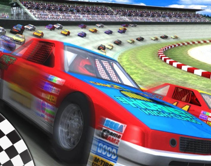 Gameplay: cantando e correndo com Daytona USA