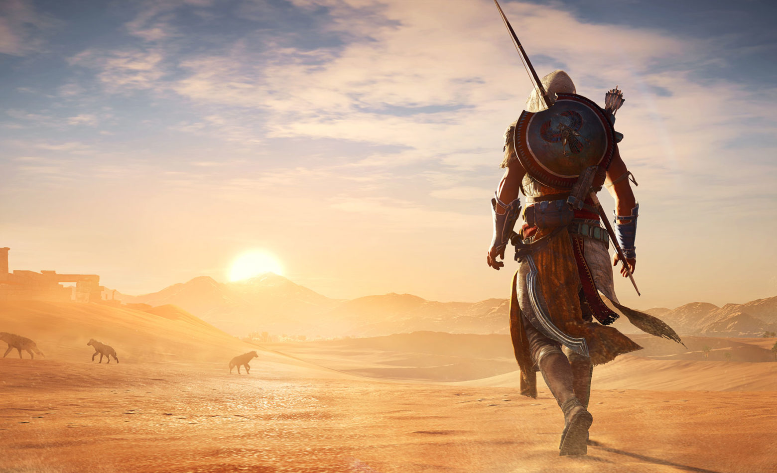 Gameplay: o hiato termina em Assassin's Creed Origins