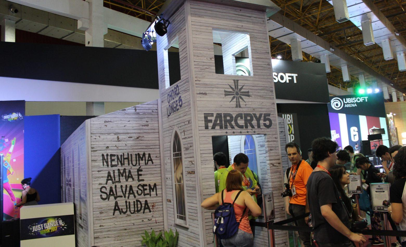 Mais vivo do que nunca, Far Cry 5 amplia conceitos do anterior [BGS 2017]