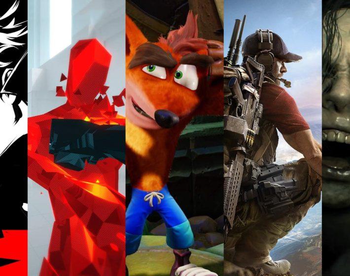 Os nossos melhores jogos de 2017