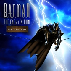 Capa de Batman: The Enemy Within E03 - Máscara Partida