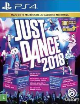 Capa de Just Dance 2018