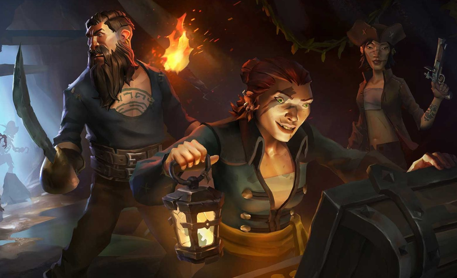 Gameplay: viajando pelos mares na Beta de Sea of Thieves