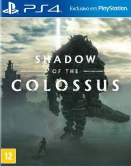 Capa de Shadow of the Colossus