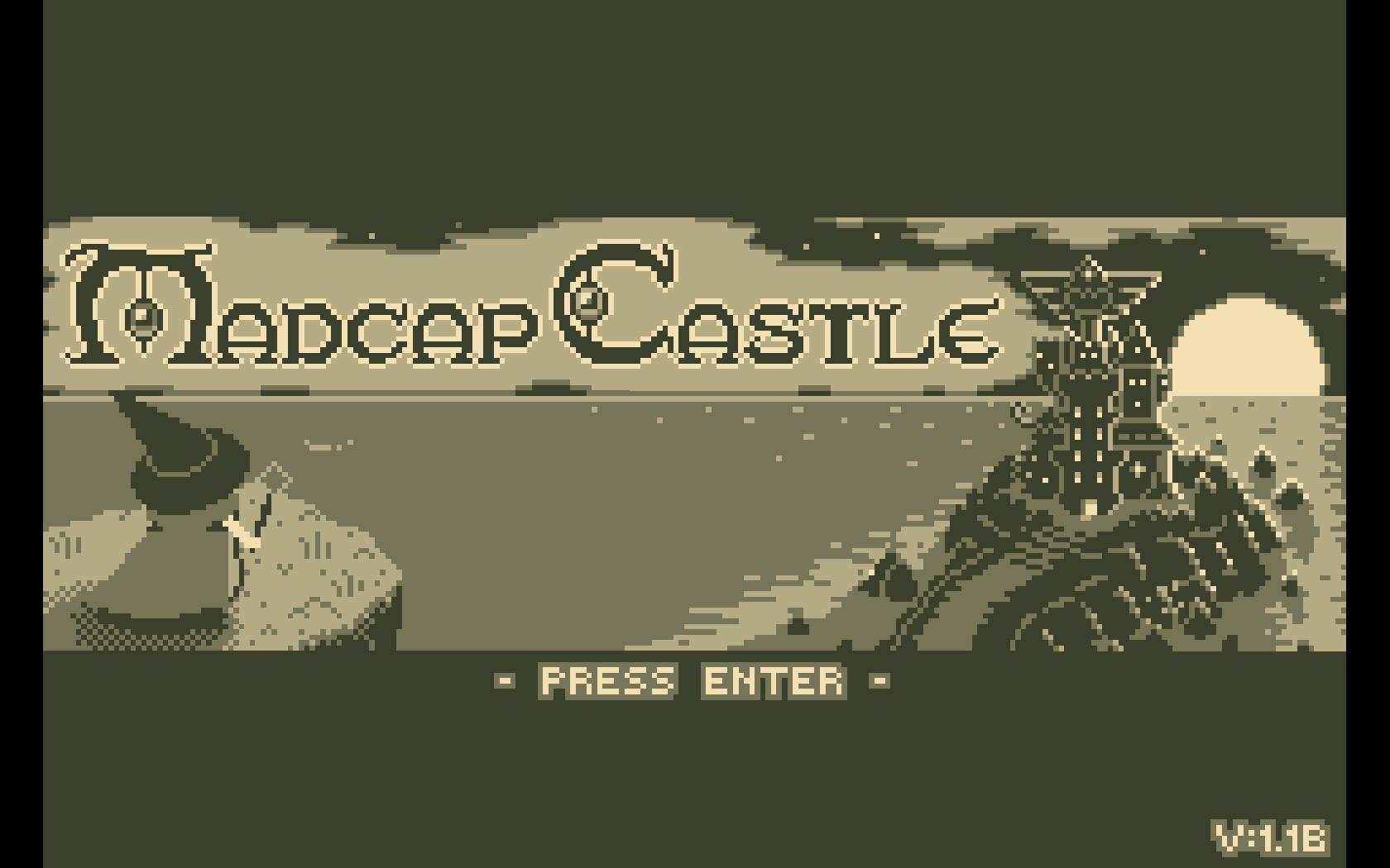 Capa de Madcap Castle