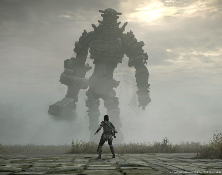 Gameplay: o clássico Shadow of the Colossus, ainda mais bonito