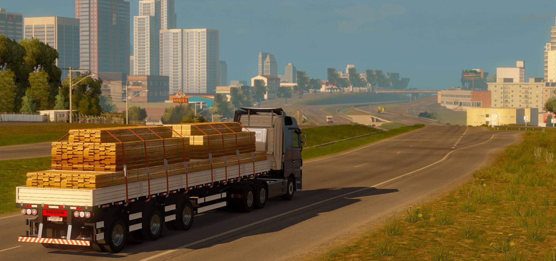 Euro Truck Simulator 2 com o mapa RBR [Antes tarde do que nunca]