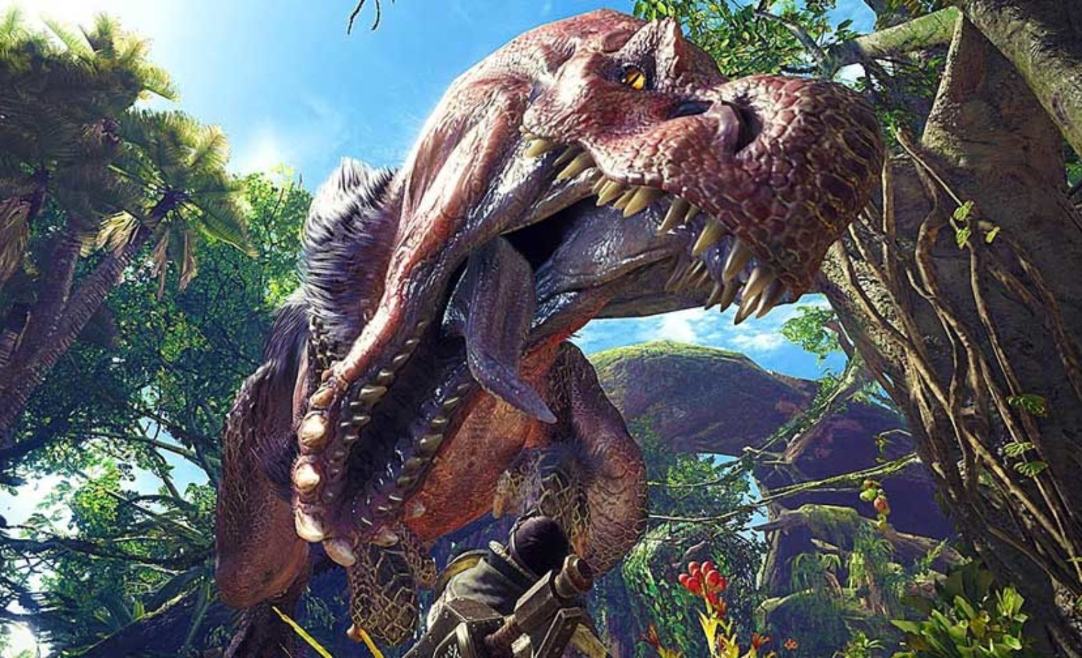 Gameplay: caçando mais animais em Monster Hunter: World