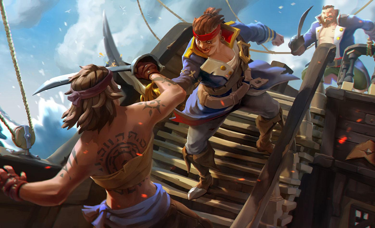 Explorando as águas de Sea of Thieves [Gameplay]