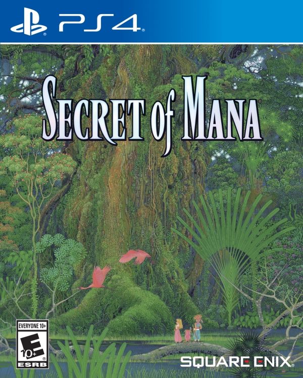 Capa de Secret of Mana