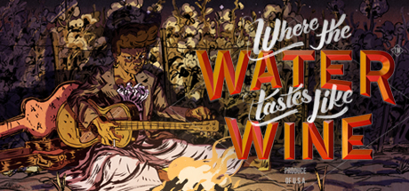 Capa de Where the Water Tastes Like Wine