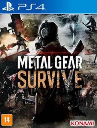 Capa de Metal Gear Survive