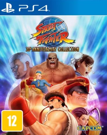 Capa de Street Fighter 30th Anniversary Collection