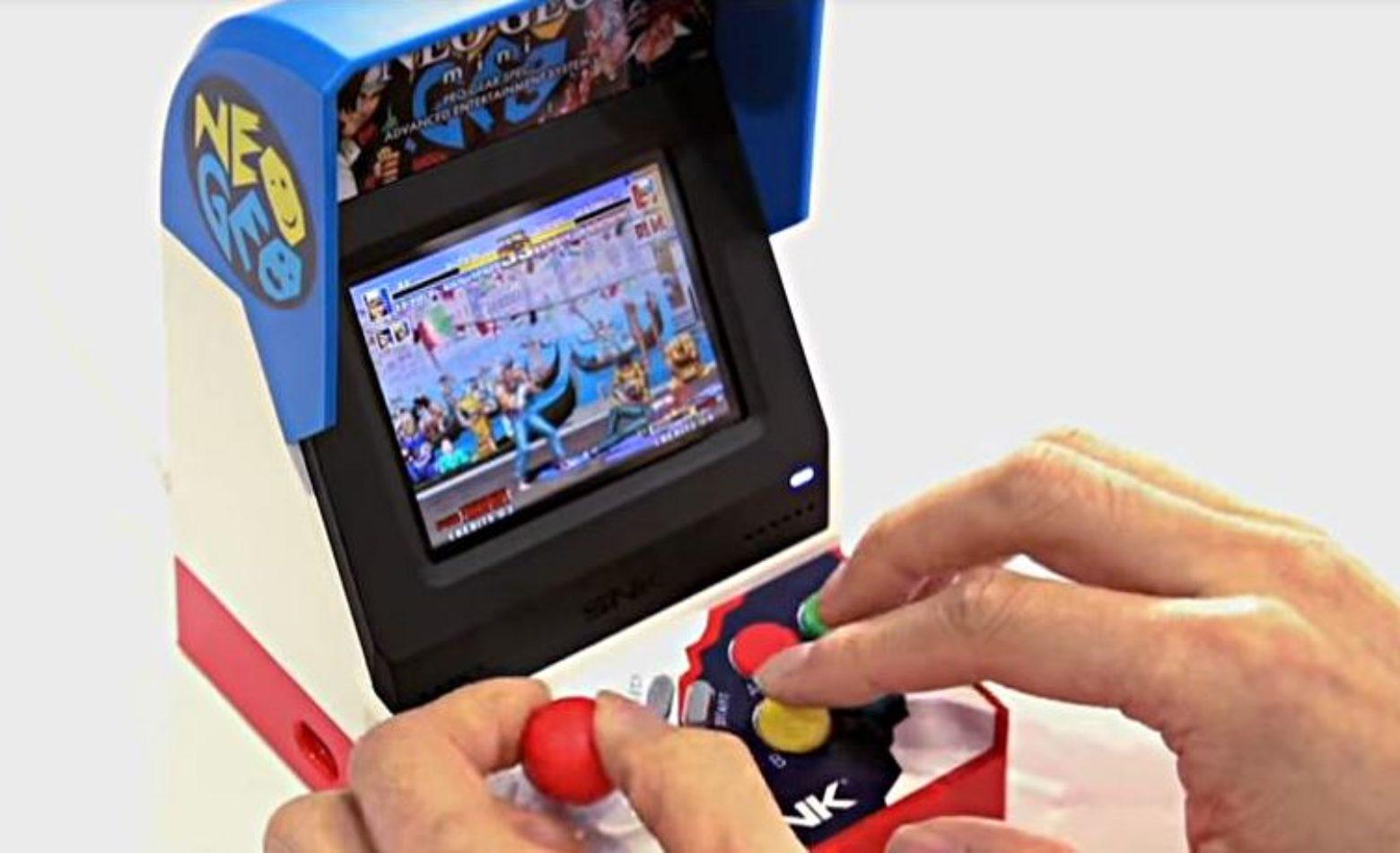 Na E3 2018, SNK anuncia lançamento do Neo Geo Mini