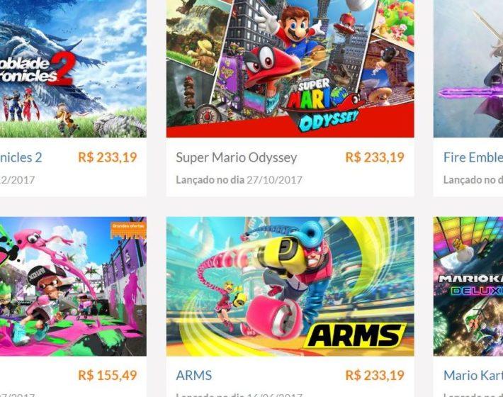 Nintendo lança loja de jogos digitais do Switch para o Brasil [E3 2018]