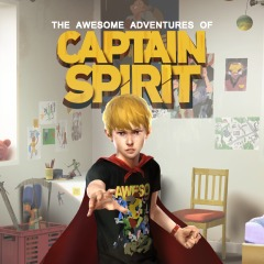 Capa de The Awesome Adventures of Captain Spirit