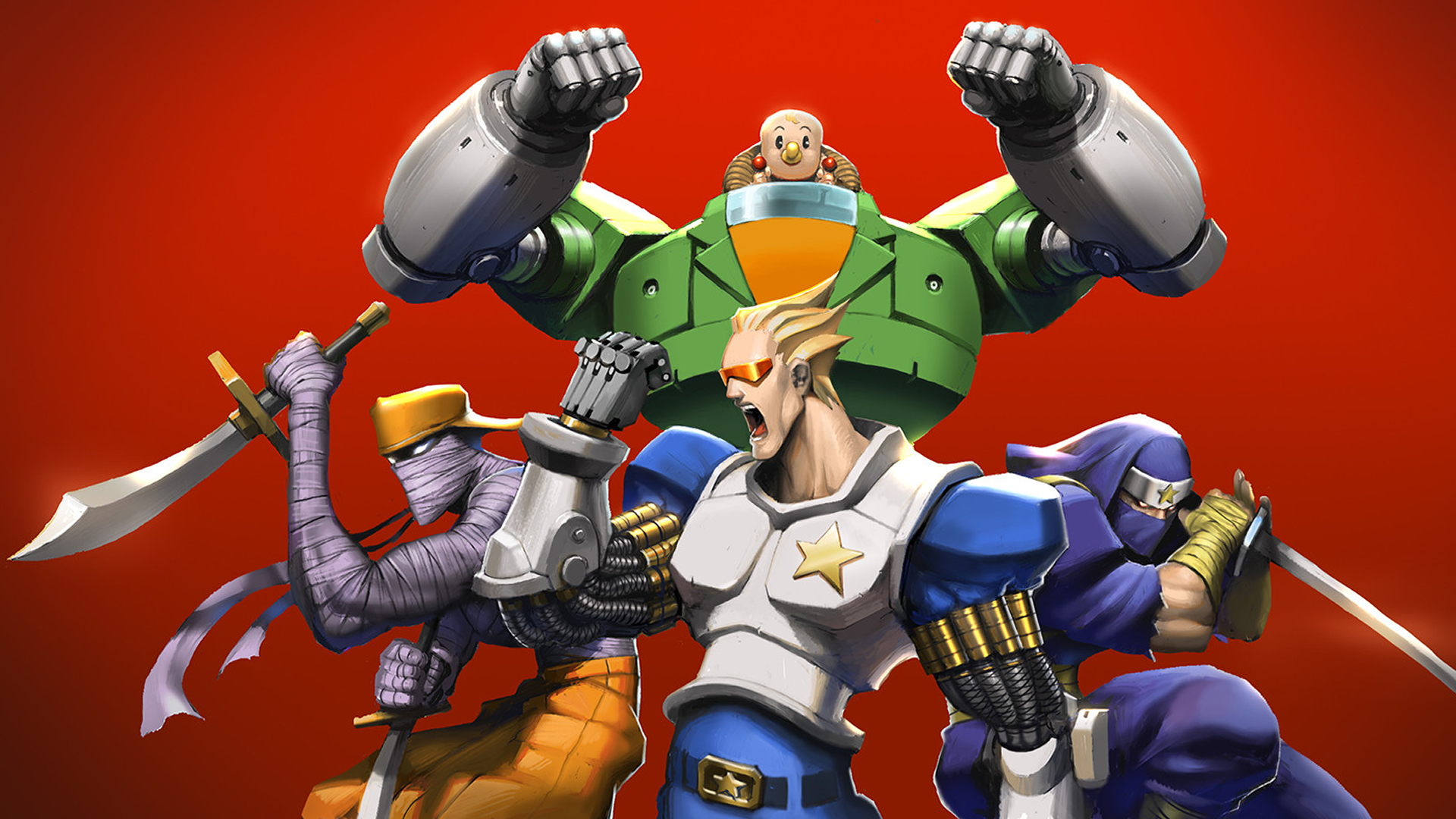 Captain Commando, do começo ao fim, no Capcom Beat 'Em Up Bundle [Gameplay]