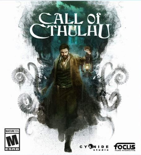 Capa de Call of Cthulhu: The Official Video Game
