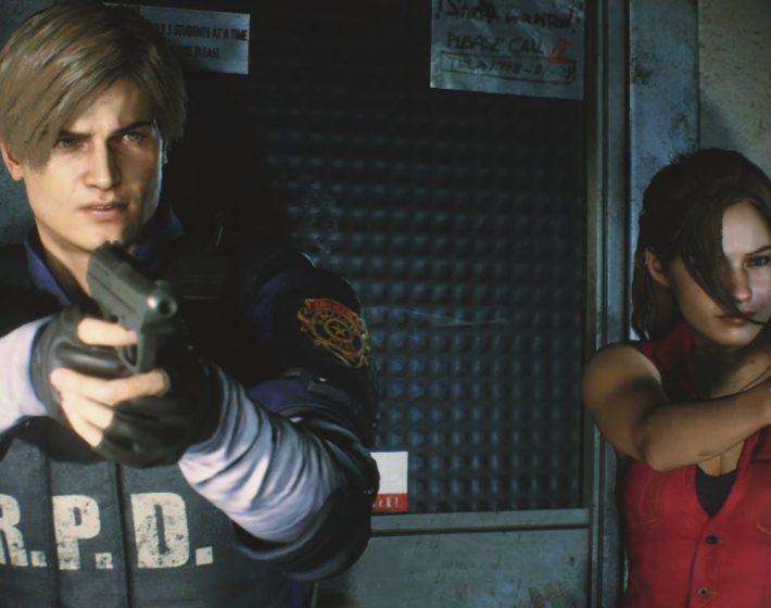 Como é Resident Evil 2 com as roupas e trilha sonora originais [Gameplay]