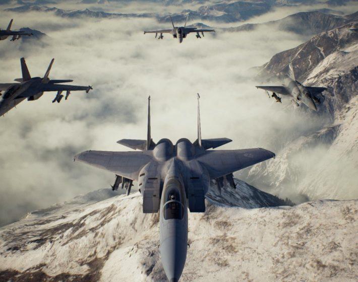 Voando na zona do perigo em Ace Combat 7 [Gameplay]