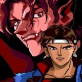 Encarando o amanhecer sobre as ruínas do castelo em Castlevania: Rondo of Blood [Gameplay]